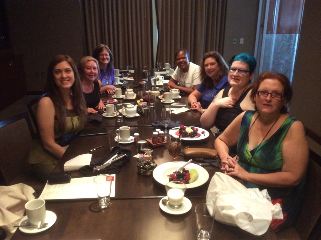 Breakfast with some amazing Readers, Bloggers, and Authors @ Authors after Dark 2014